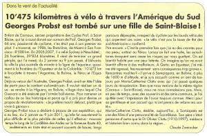 Bulletin des Communes - St-Blaise