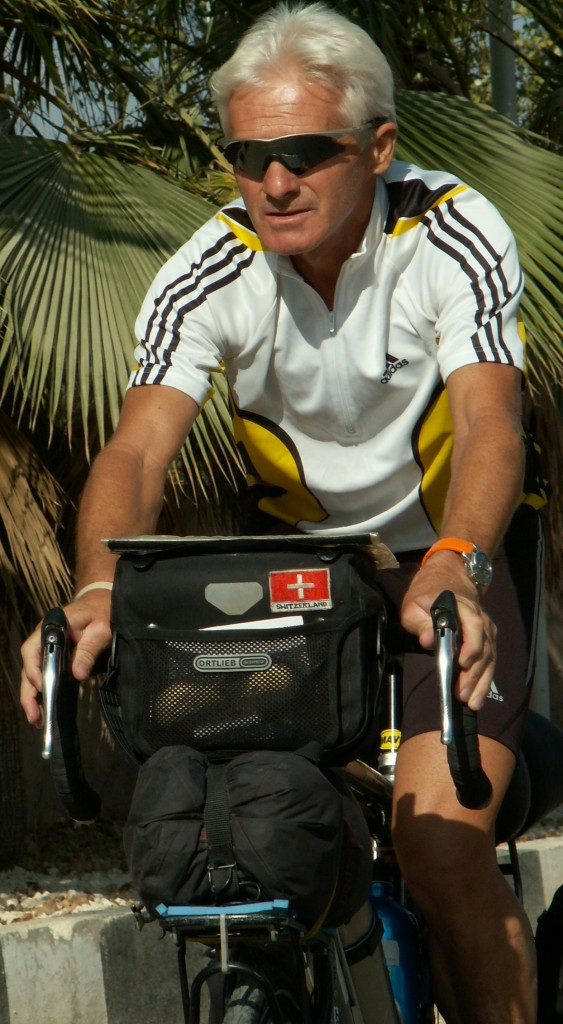 Georges Probst, aventurier cycliste