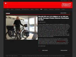 News BMC - Présentation de Georges et d'AMSUD-CHE-40.ch