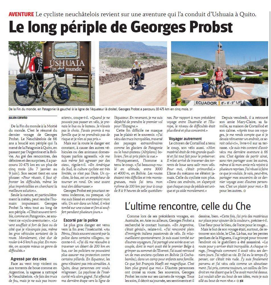 Article paru dans l'Express du 17.06.2011