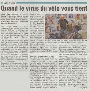 Quand le virus vous tient - Article paru dans le journal Littoral Région